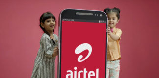airtel offering extra 33gb 4g data free benefits on recharge plan 399 by My Airtel App
