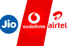 reliance jio 555 airtel 558 vodafone 569 plan benefits comparison calling iuc data validity price
