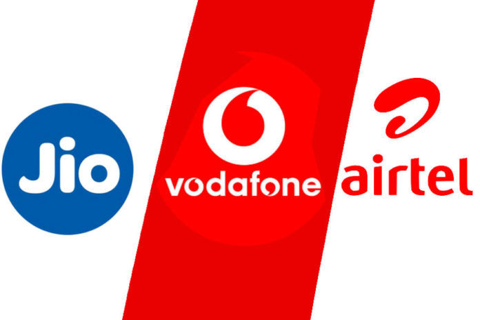 Airtel Vodafone Idea Reliance Jio best plan for 84 days validity know difference price 4g data voice calling benefits