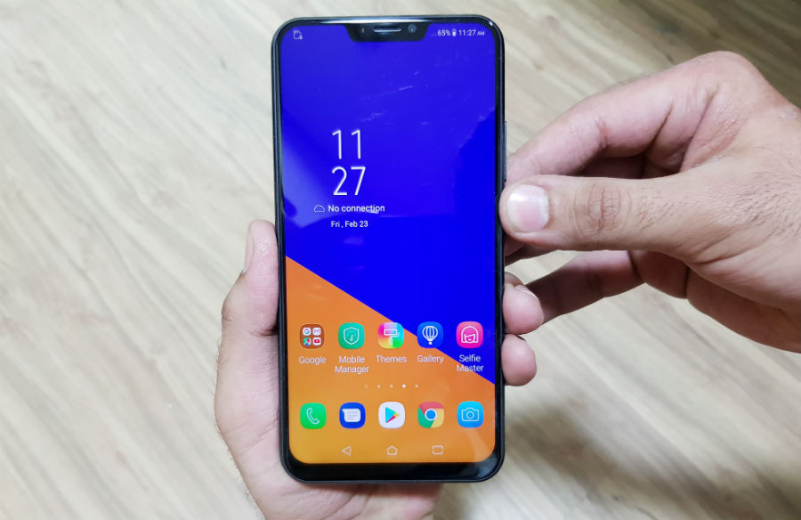asus zenfone 5z launched with 8gb ram 256gb memory and notch screen features
