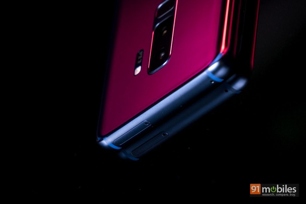 सैमसंग गैलेक्सी एस9 प्लस के कैमरे की तस्वीर