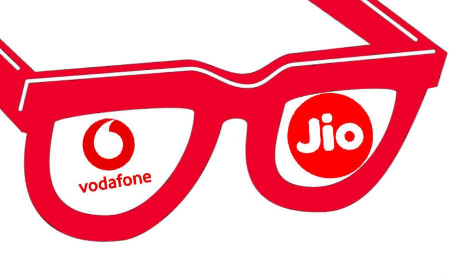 Vodafone rs 229 plan Reliance Jio rs 222 prepaid iuc offer 4g data voice calling