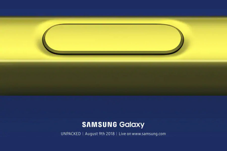 samsung-galaxy note 9 invite