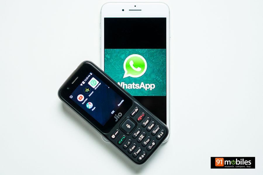 कैसे चलाएं जियोफोन में व्हाट्सऐप