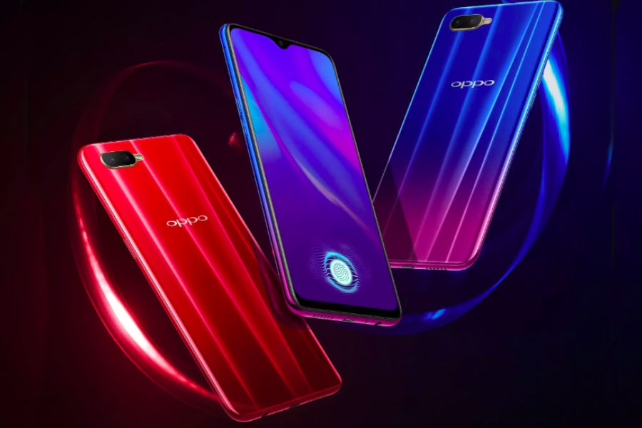 OPPO K1 available for offline sale in display fingerprint sensor india