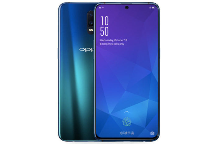 oppo r19 render image tpu case leaked camera design specifications in hindi