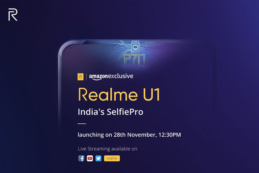 realme-u1-to-launch-in-india-on-28-november-amazon-exclusive-with-mediatek-helio-p70-in-hindi