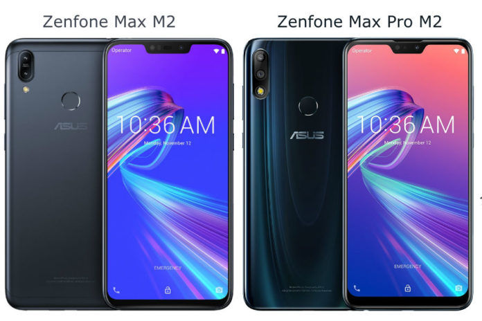 asus zenfone max pro m2 and zenfone max m2 launched price specificationa in hindi