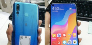 Huawei nova 4 real image leaked selfie hole camera specifications in hindi