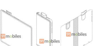 oppo foldable phone patent pop up camera triple sensor in hindi