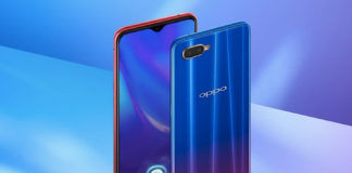 oppo k1 launched in india in display fingerprint sensor feature specifications price in hindi