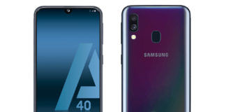 Samsung galaxy a40 leaked render image specifications price