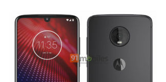 motorola moto z4 press render image leaked exclusively