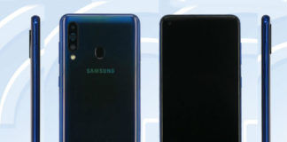 samsung galaxy a60 full specifications listed on tenaa 32mp selfie camera 8gb ram