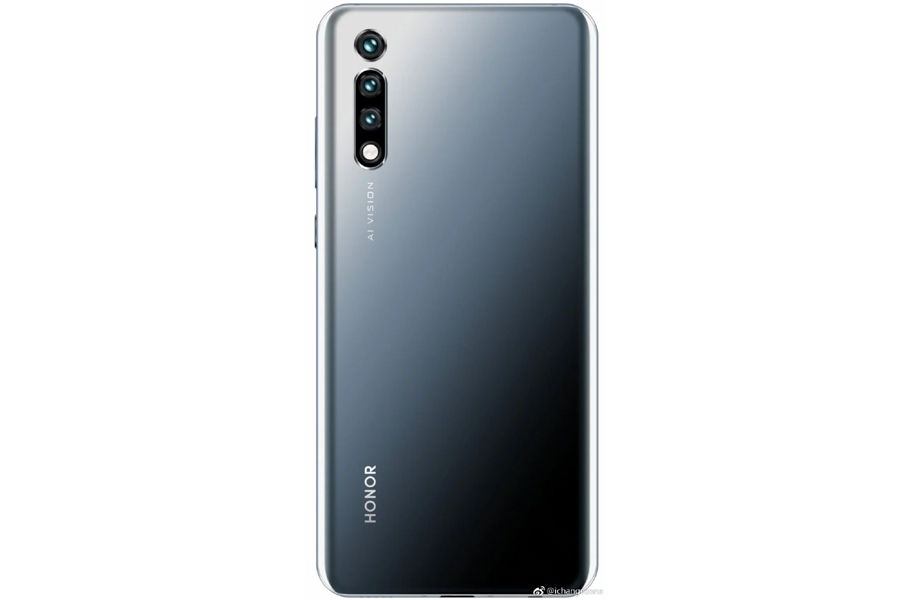 honor 20 pro real image leak punch hole display