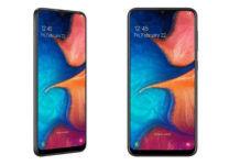 Samsung Galaxy A20s tenaa listing specifications triple rear camera image design