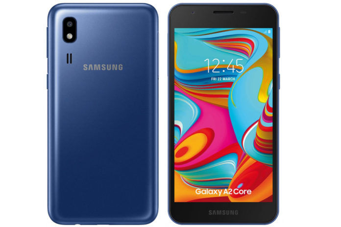 samsung galaxy a2 core android go launched in india specifications price 5290