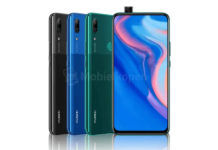 Huawei P Smart Z with pop up selfie camera 4000mah leaked specs image