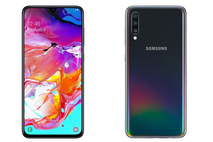 Samsung Galaxy A70s geekbench listing specs revealed