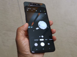 samsung galaxy a80 official with rotating slider camera 8gb ram snapdragon 730g specifications price