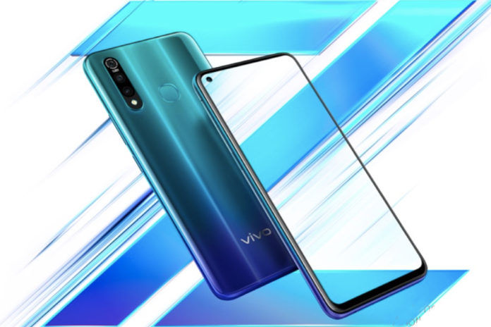Vivo Z5x launched 5000mah battery 8gb ram Snapdragon 712 specs price sale