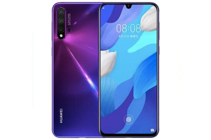Huawei Nova 5i Pro tenaa listing leaked specs