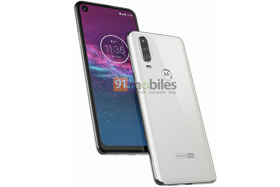 Motorola One Action fcc listing 3500mah battery leaked one vision launch in india