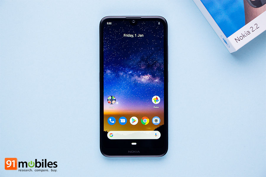 nokia 2 2 launched waterdrop notch display feature specification price