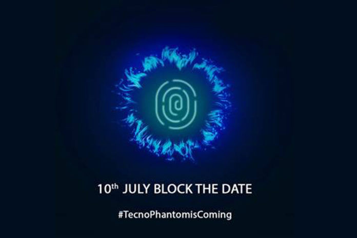 Tecno Mobile India to launch new smartphone 10 july with under display fingerprint sensor