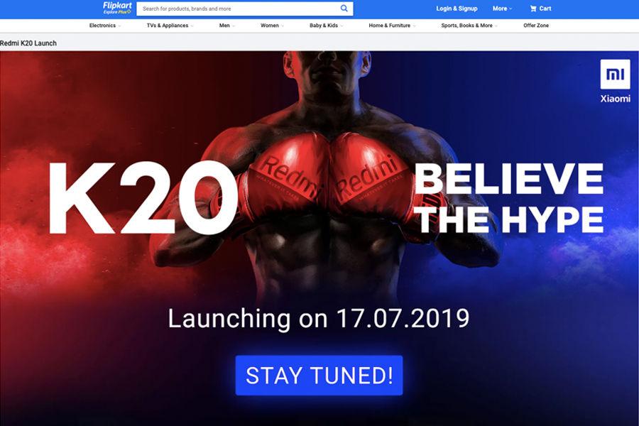 Xiaomi flipkart Redmi K20 Launch india 17 july