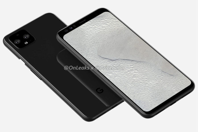 Google Pixel 4 XL 5g geekbench listing with 8gb ram snapdragon 855