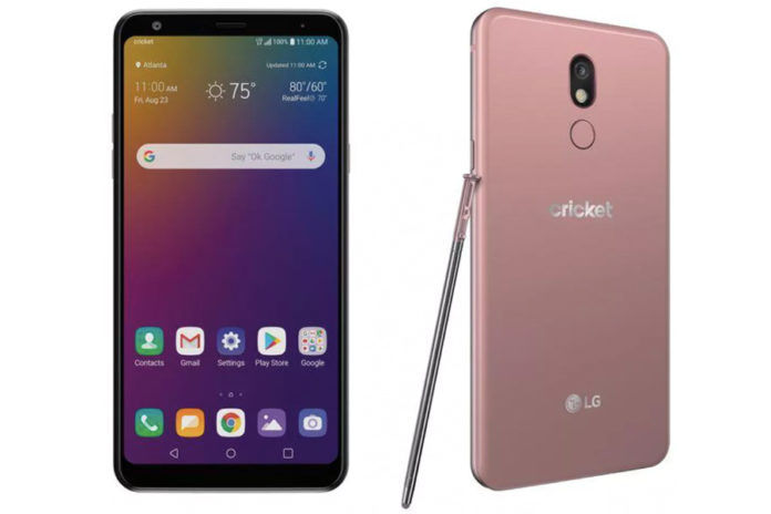 LG Stylo 5 officially launched stylus pen specifications
