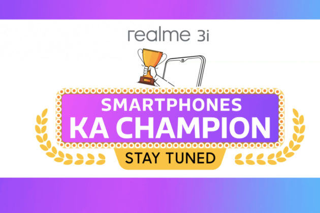 realme 3i low budget smartphone to launch in india on 15 july with realme x