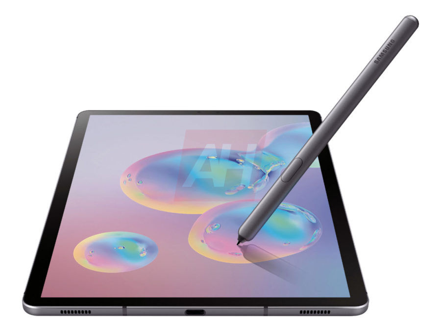 Samsung Galaxy Tab S6 specifications revealed snapdragon 855 7040mah battery