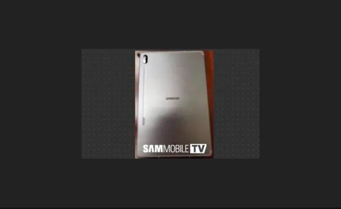 Samsung Galaxy Tab S6 exclusive specifications snapdragon 855 in display fingerprint sensor
