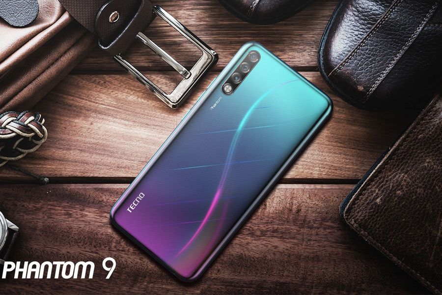 Tecno Phantom 9 launched in display fingerprint sensor 6gb ram triple rear camera