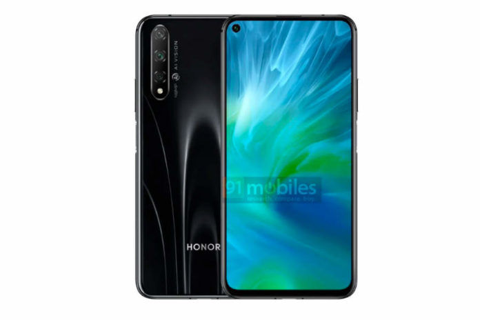 Honor 20 Lite Youth Edition LRA-AL00 listed on tenaa specs leaked