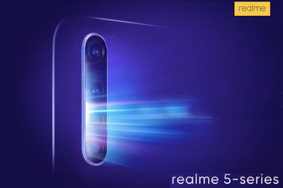 Image result for 20 अगस्त को लॉन्च होगा 48-एमपी क्वॉड कैमरे वाला Realme 5 Pro