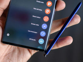 samsung s pen Stylus top 5 features galaxy note 10 plus