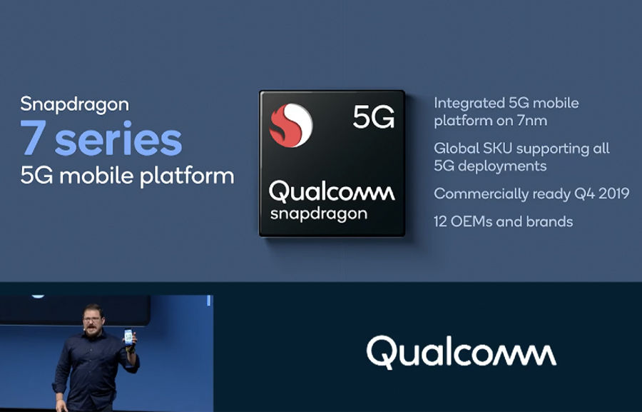 Qualcomm Snapdragon 700 600 series mid range 5g chipset oppo vivo realme redmi motorola lg