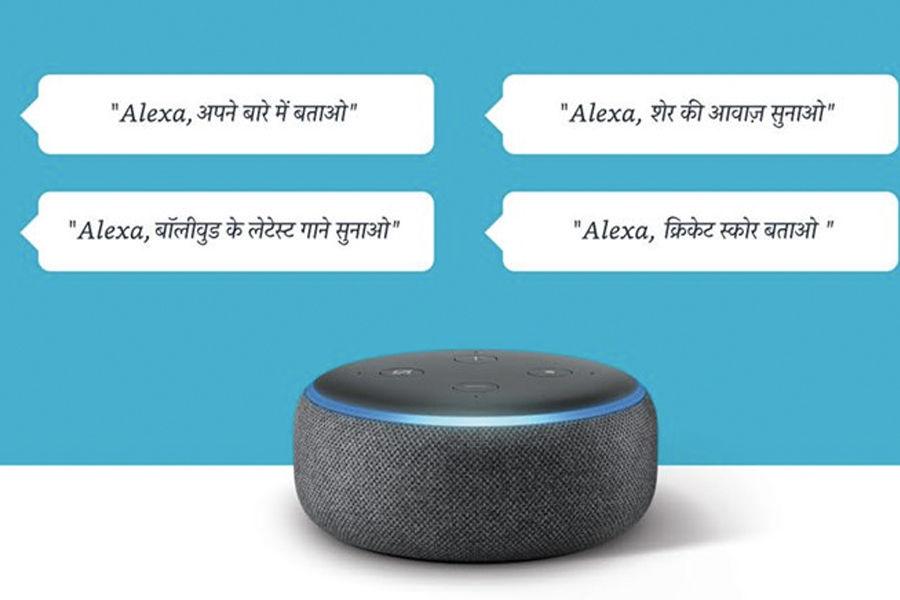 Amazon Alexa Hindi and Hinglish update Echo smart speakers in India bollywood