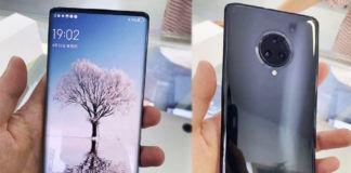 Vivo NEX 3 real image leaked waterfall display dual pop up camera