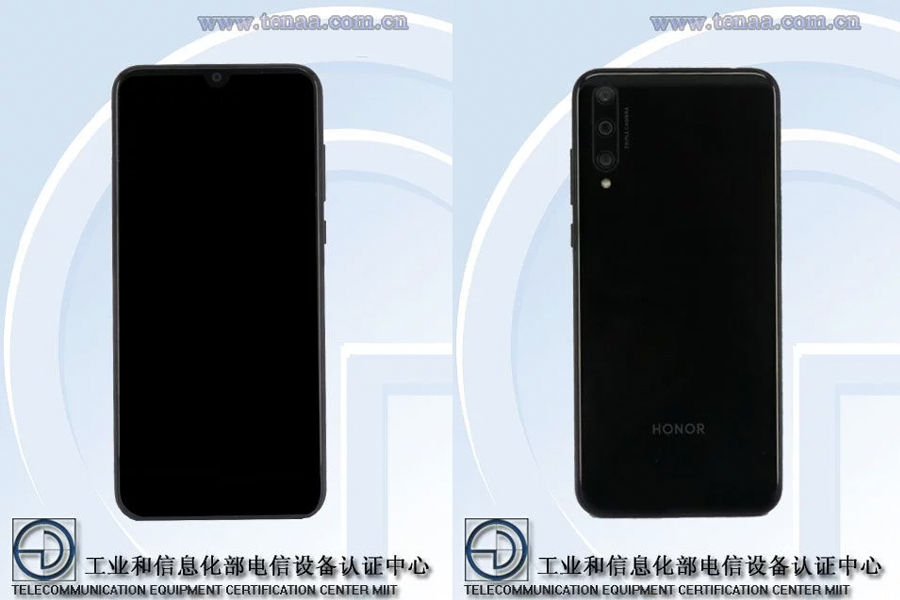 Honor 20 Lite Youth Edition LRA-AL00 listed on tenaa specs leaked