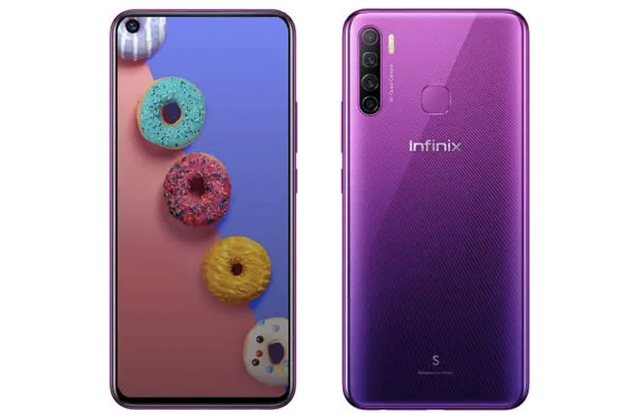 Infinix S5 launched in india price at rs 8999 cheapest punch hole display quad rear camera 4gb ram 4000mah battery