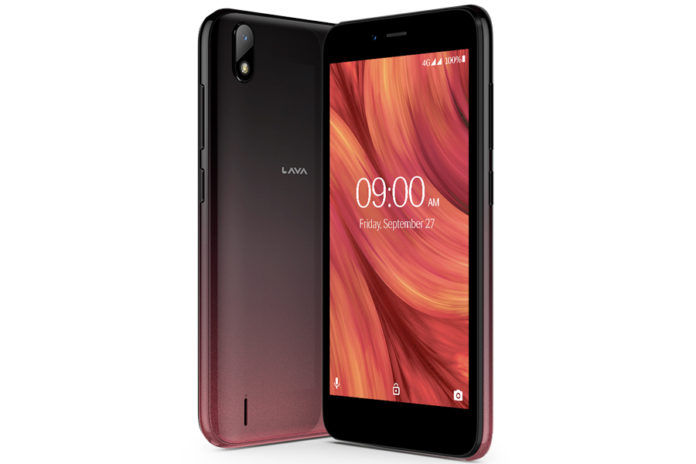 Lava Z41 launched in india android 9 pie go edition price 3899