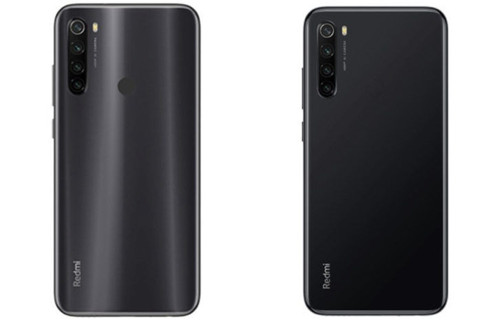 Xiaomi Redmi Note 8T render image leaked quad rear camera nfc