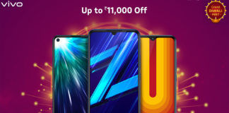 Vivo Grand Diwali fest Z1 Pro Z1x u10 discount offer sale free gift