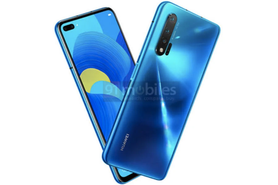 Huawei Nova 6 dual punch hole 60mp rear camera specifications leaked