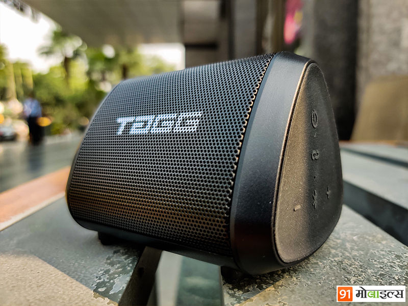 tagg sonic angle mini bluetooth speaker portable wireless review in hindi
