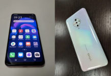 Vivo V17 real photo in music video revealed front and back design